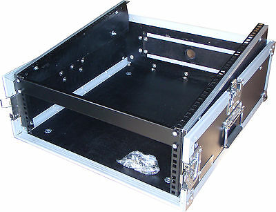 "Speed Case 19"" 3U amp / 12RU mixer slanted flight road case"