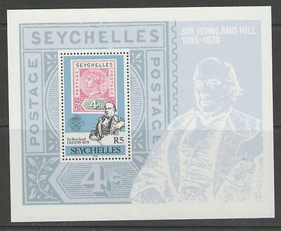 Seychelles Sgms453 1979 Rowland Hill Mnh