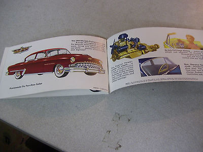 Amazing Highlights of the Distinguished DeSoto for 1953 Brochure in Color!