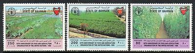 Bahrain Mnh 1995 Food And Agriculture Set
