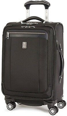 """Travelpro Luggage Platinum Magna 2 20"""" Business Plus Spinner Carry On - Black"""