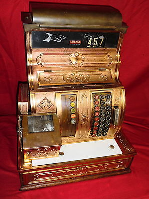 Antique Brass National Cash Register Model 1056-G - Pickup In Denver, PA 17517