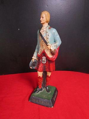 Vintage Drambuie Bonny Prince Charlie China Pub Bar Advertising Whisky Figurine