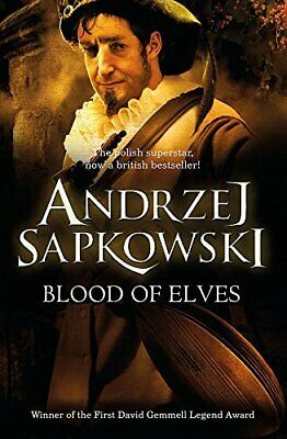 Blood of Elves: Witcher 1 - Now a major Netfli... by Andrzej Sapkowski Paperback