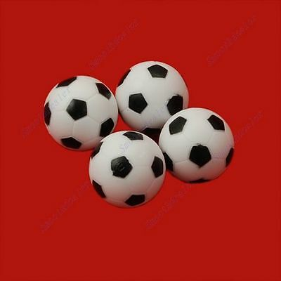 4pcs 32mm Mini Soccer Table Foosball Ball Fussball Football Indoor Game New