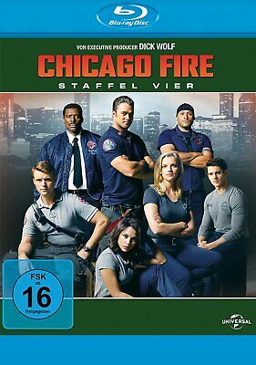 Chicago Fire - Season/Staffel 4 # 6-BLU-RAY-BOX-NEU
