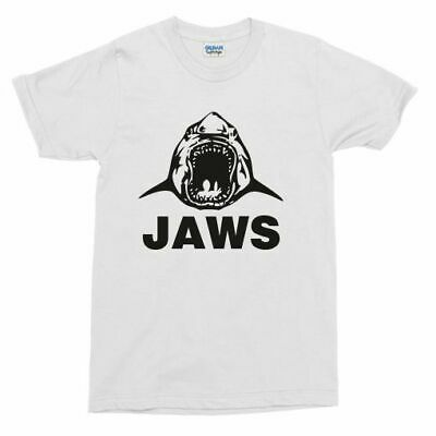 Jaws T-shirt - As Worn By Steven Spielberg And Crew, Shark, Various Sizes
