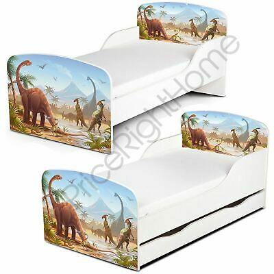 Price Right Home Jurassic Dinosaurs Toddler Bed + Mattress Options Free P+P New