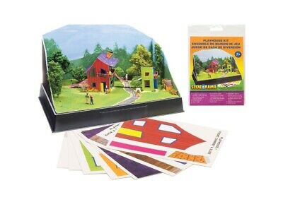 Woodland Scenics SP4243 Scene-A-Rama Playhouse Kit