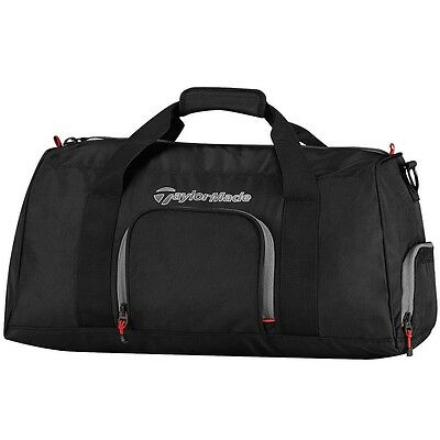 TaylorMade Golf 2016 Players Duffle Bag (Black/Grey/Red)