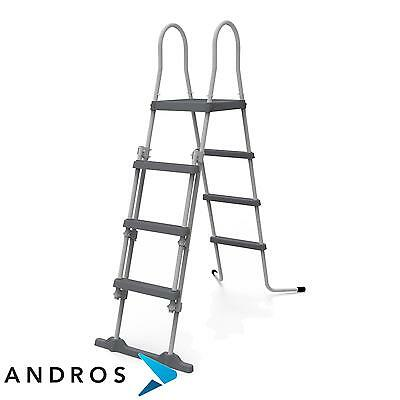 Jilong 4 Step Pool Safety ladder + platform 122 cm