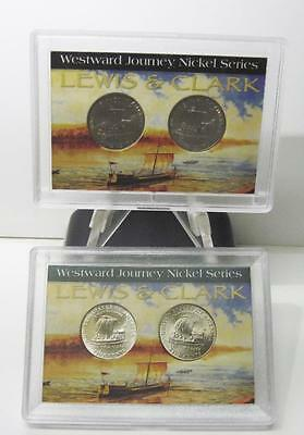 Lot Of 2 Westward Journey Lewis And Clark Nickle Series