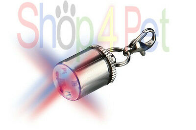 TRIXIE DOGS LED SAFETY LIFE FLASHER for DOG COLLARS, 2 SETS OF BATTERYS INCLUDED
