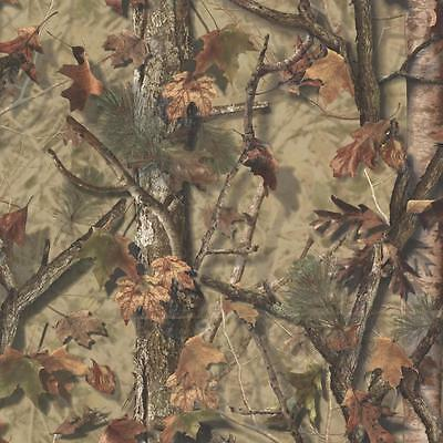 Wallpaper Sawgrass Camo Leaf Forest Camouflage Tan Green Rust Brown