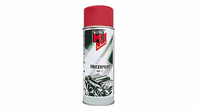 Auto K Lackspray Hitzefest 300°C rot (400ml)