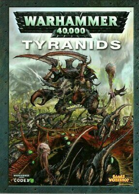 Codex Tyranids by unknown author Paperback Book The Cheap Fast Free Post