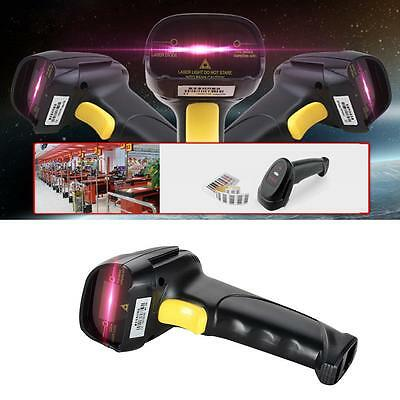 Automatic Barcode Scanner USB Laser Scan Bar Code Reader With Handheld stand KJ
