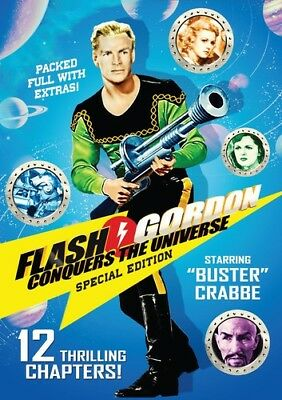 Flash Gordon Conquers the Universe [New DVD] Collector's Ed, Full Frame, Speci