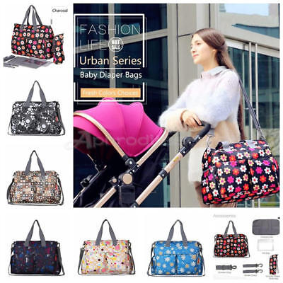 6Pcs Baby Nappy Bag Waterproof Reusable Washable Mummy Bag Diaper Changing Bag