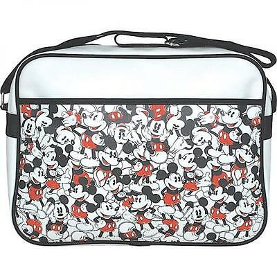 Mickey Mouse - Repeat Mickey Retro Design Shoulder Bag Satchel - New & Official