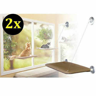 2X Cat Window Mounted Sunny Seat Cat Bed Box Package AU POST