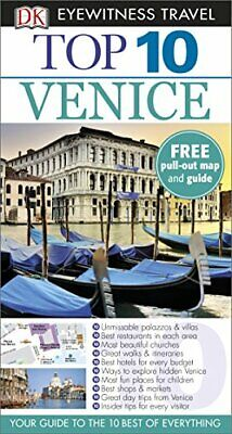 DK Eyewitness Top 10 Travel Guide Venice by DK Book The Cheap Fast Free Post