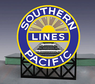 Southern Pacific Animated Billboard Sign for N HO Scale Miller 7072