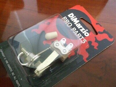 NEW - DiMarzio Right Angle Toggle Switch For Guitar, With Knob