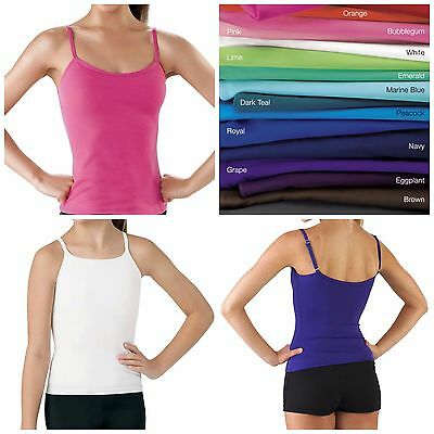 NEW Balera or Capezio Camisole Cami Top Dance Cheer Yoga Child & Adult
