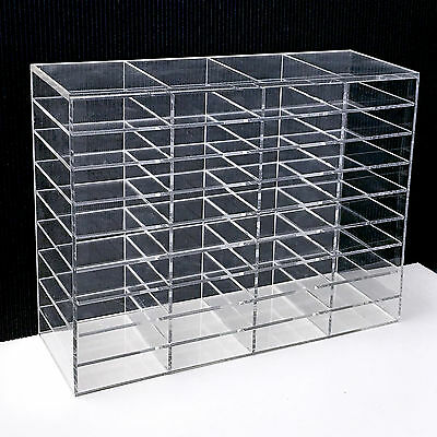 LashArt Clear Acrylic Eyelash Extensions Display Stand Storage Shelf Holder