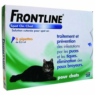 FRONTLINE Combo 6x0,5ml - Pour chat