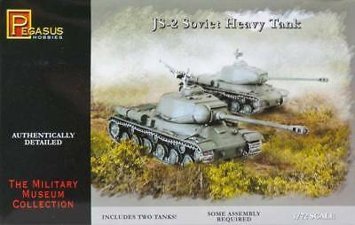 NEW Pegasus Hobbies 1/72 JS-2 Soviet Heavy Tank (2) 7669