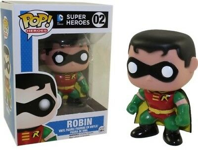 DC Universe - Batman And Robin Funko Pop! Heroes Toy