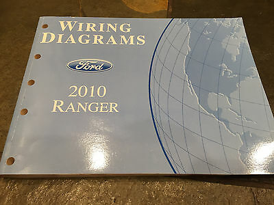 2002 ford ranger truck electrical wiring diagrams service shop 2010 ford ranger pick up truck wiring diagrams electrical service manual