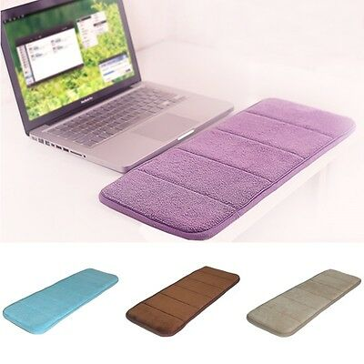 Wrist Raised Hands Rest Memory Pad Cushion Elbow Guard for PC Keyboard COFFEE