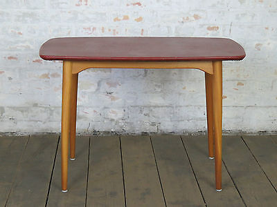 Mid Century 50s 60s Danish Modern Sofa Coffee Couch Side Table Retro Vintage I