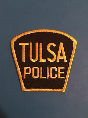Tulsa Oklahoma Police Patch      L@@k At My Patch Store