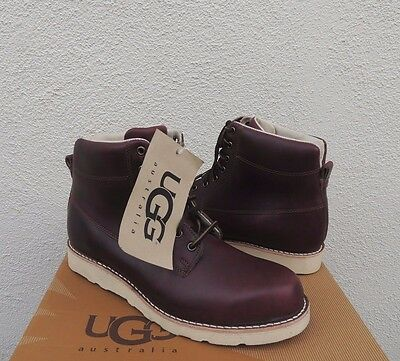 9d6ccc24553 UGG GOODWIN CORDOVAN Leather Ankle Boots, Us 11/ Eur 44.5 ~ Nib ~ Usa Made