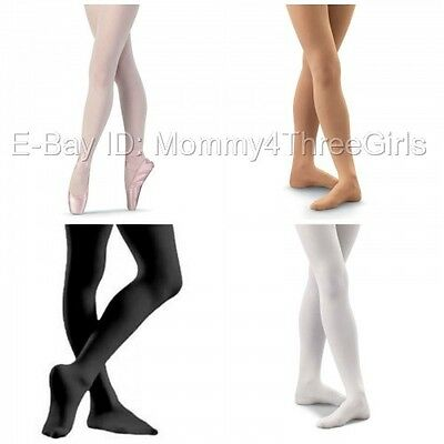 NEW Bloch Capezio Body Wrappers Danskin Footed Dance Tights Adult & Plus Size