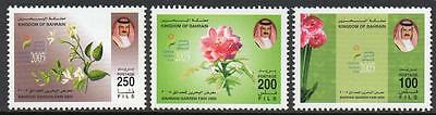 Bahrain Mnh 2004 Garden Fair Set