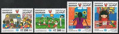 Bahrain Mnh 2003 Universal Childrens  Day Set