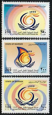 Bahrain Mnh 1999 Year Of Older Persons Set