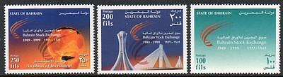 Bahrain Mnh 1999 Stock Exchange Set