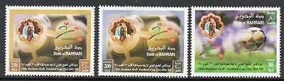 Bahrain Mnh 1998 Arabian Gulf Football Set