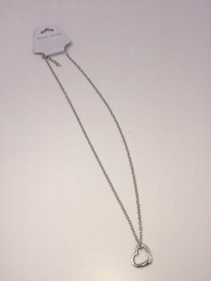 Necklace Heart in Gold Colour (Eazy for matching with your clothes)
