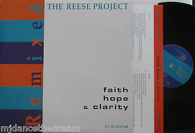 THE REESE PROJECT ~ Faith Hope & Clarity Remixed ~ 2 x VINYL LP
