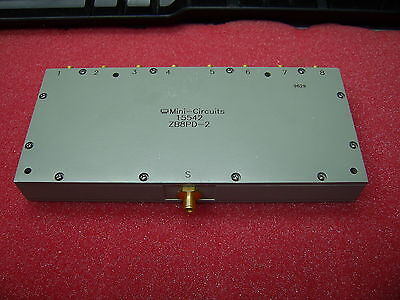 Mini Circuits ZB8PD 2 1-GHz to 2-GHz 8 Way SMA Power Splitter / Combiner
