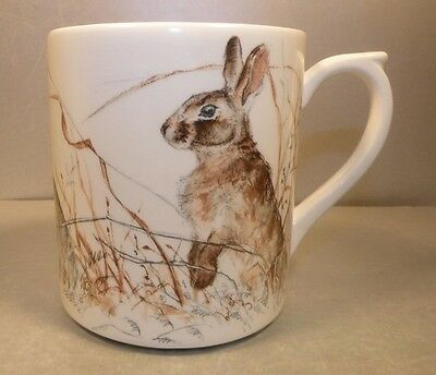 NEW Coffee Mug Rabbit, Sologne Pattern  From GIEN