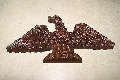 Molded Eagle Ornament New Clock Parts