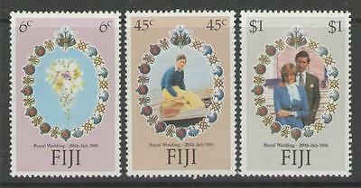 Fiji Sg612/4 1981 Royal Wedding Mnh
